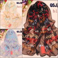 Georgette fabric silk georgette - fashion georgette chiffon scarves women foulard pashmina scarf imitated silk fabric scarves new beach towel QSJ