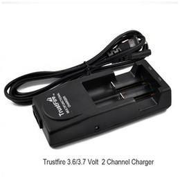 Original Trust fire charger trustfire tr-001 multifunctional rechargeable US EU UK AU charge for 16340 17670 18500 18650 lithium battery DHL