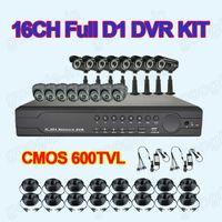 Wholesale HDMI CH H DVR Kit CCTV CMOS TVL IR Camera Weatherproof Outdoor Security Camera System x M Cable