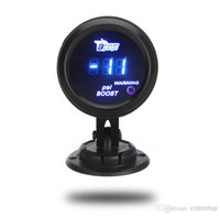 Boost Gauges lighted cup holder - Digital Turbo Boost Gauge Meter with Sensor mm in LCD PSI Warning Light Car Gauge Meter Pod Holder Cup Mount K970 K976