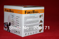 Wholesale 20pcs A Forceball Power Gyroscope handball Wrist Ball Grip Spin Power Ball lowest price White band DHL free