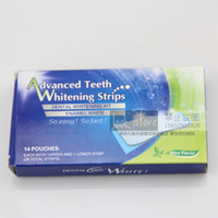 Wholesale The new tooth paste Advanced Teeth Whitening Strips teeth whitening paste