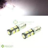 Wholesale BAX9S H6W W lm K SMD LED White Light Car Steering Backup Light V Corner lamp