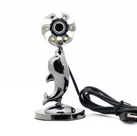 other 1024x768 other Web camera Dolphin computer hd built-in webcam free drive with night vision Freeshipping