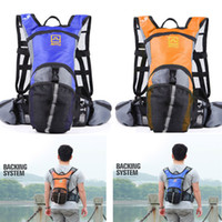 Wholesale Outdoor Aotu Cycling Bicycle Bike Sport Hiking Climbing Hydration Backpack Rucksack Bag Orange blue H10173 H8062