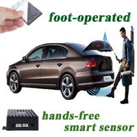 Wholesale Universal High end Smart Sensor Foot operated Car Trunk Car Mat Open System Hands Free Car Trunk Unlock Release for luxury cars K1130