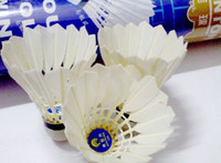 Wholesale Gift A pair of Badminton socks Hot Sell badminton shuttlecock sale Best duck feather