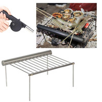 Wholesale 2014 Alocs Aluminum Camping Portable Charcoal Grill for Outdoor Barbecue Picnic BBQ CF PG01 H10442