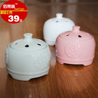 Wholesale New arrival ptc electric heating aromatherapy furnace oil furnace incense burner aromatherapy incense burner