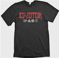rune - Led Zeppelin Zoso Jimmy Page Plant Four Runes Symbols Houses Of The Holy Shirt Bands Rock Latex Shirt