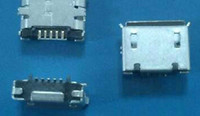 Wholesale micro usb connector Very common used charging port for mobile tablet MP3 MP4 GPS p