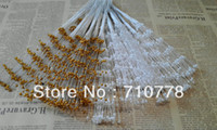 Wholesale 200PCS Bunch DIY wedding craft flower bouquet accessories artificial white gold pearl string decoration material