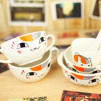 other other other Bandai . cat noodle bowl interaural bowl breakfast cup spoon