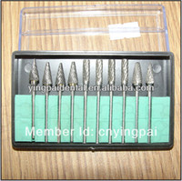 Wholesale Tungsten Steel Dental Burs Tooth Drill Lab Burrs set