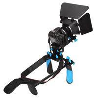 dslr rig - DSLR Rig Set Movie Kit shoulder mount rig with Matte Box for All DSLR Cameras and Video Camcorders