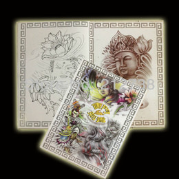 Wholesale A4 Tattoo Reference Book For Tattoo Supply pages