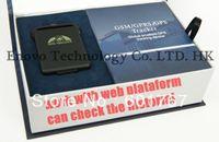 Wholesale Android App Car gps Tracker TK102b Quand band Global Portable GPS Locator SD TF Slot Memory moniteur Traqueur Rastreador Tpekep