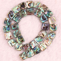 Wholesale x12MM Both Sides New Zealand MOP Abalone Shell Gemstone Flat Square Loose Beads