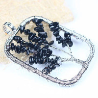 Cheap Beaded Necklaces pendant Best fashion Unisex Wire Wrap Life Tree