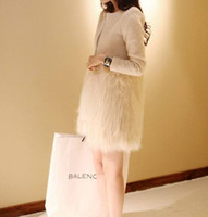 Coats Women Waist_Length 2014 new elegant fashion high imitation fur coat