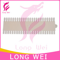 Wholesale drop shipping color tips Tips Ivory False Nail Art Polish Display DIY Color Chart Palette Creamy