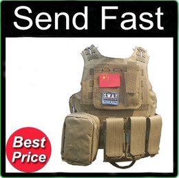 Wholesale 7 Colors Sand Black ACU Camouflage CP Digital Army Green Molle Tactical Vest specter of war Commando Tactical CS field