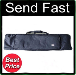"""Send Fast Sporting Tactical 47"""" 10.5"""" 1.2M Carry Case Rifle Gun Black Bag With Sling Slip"""