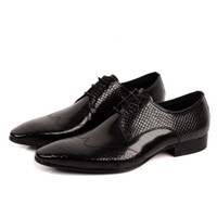 Wholesale 2014 New Spring Fashion Genuine Leather Formal Brand Man Italian Oxford Sneakers Men s Dress Wedding Print Shoes GL460