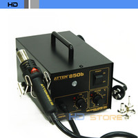 Electricity   AT850B Heat Gun Lead-free Antistatic Desoldering station BGA rework station