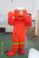 Wholesale Hot Sale Adult Elmo Red Monster Mascot Costume Fancy Party Dress Suit