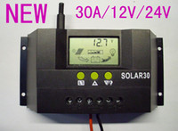 Wholesale 30A V V Solar Charge Controller Regulator Fot Solar Battery Panel Safe Protection With CE Certify