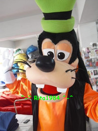Wholesale Deluxe Goofy Dog Mascot Costume Fancy Party Dress Suit