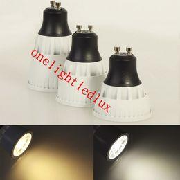 50PCS GU10 7W 10W 15W COB Cool White Warm White Support Dimmer LED Spot Light Super Brightness