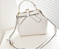 Totes Women Plain Girls Tote Shopping Bag Bowknot Bag HandBags Designer Bags Adjustable Handle Hot Bags