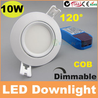 Wholesale 10W dimmable led downlight cob recessed ceiling lights beam angle cut out mm lm SAA C TICK CE RoHS