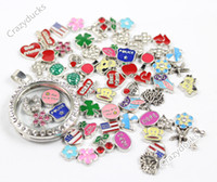 Wholesale 2014 New Memory Floating Charm Pendant Necklace Charms Free Shpping