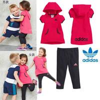 Wholesale kids summer suits suit girl boy sets Kids Clothing Children s Outfits Sets MKA