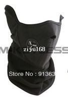 Wholesale In stock In stock LOTWholesale neoprene full face bikers mask ski bike skull new black