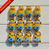 Shoe Decorations shoe charms - Despicable Me Minion PVC Jibbitz Shoe Charms For Wristbands amp Shoes with holes Kids toy Mixed Styles Kids Best Gift