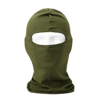 Wholesale Army Green Motorcycle Cycling Ski Neck protecting Outdoor Balaclava Full Face Mask Protection Luminous skeleton CS Navy Seals