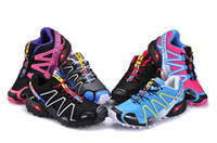 Wholesale The female version of the Salomon sport shoes Breathable lightweight running shoes