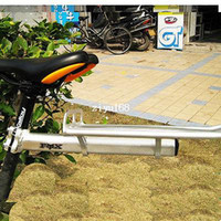 Wholesale 2014 New Bicycle Rear Rack brake Cycling Bag Rack Bike Silver Riding equipment