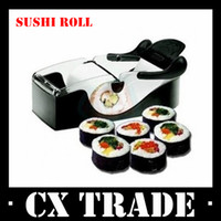 Stainless Steel Sushi Tools Sushi Molds Free shipping New DIY easy rolls sushi maker roller machine tools perfect kitchen gadget #8319