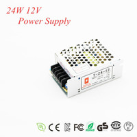 12V 2A Yes Dual 1pc 24W 2A Switching Power Supply AC 100-240V input,12V Output Switch Power For LED Strip Light