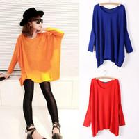 Women Alpaca Twinset Women Top Oversized Layering Tunic Knit Sweater Sleeve Free Size Batwing