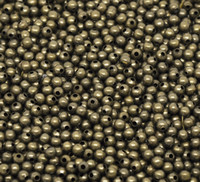 Wholesale Antique Bronze Smooth Ball Spacer Beads mm in Dia Jewelry Making Findings