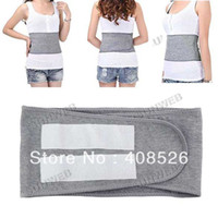 Waist Support Bamboo charcoal fiber Bamboo charcoal fiber New Adjustable Lumbar Support Elastic and Breathing Back Waist Support strength Belt free shipping 10696