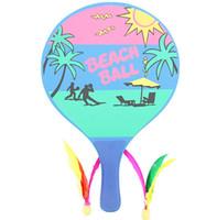 Wholesale Hot sale Large plate Board racket Beach rackets San Mao racket Leisure Sports Games