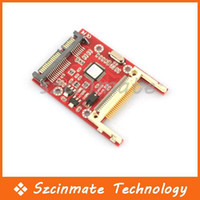 Wholesale CF Type Card to quot SATA Pin Converter Adapter