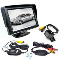Wholesale Car Rear View System LEDs Wireless IR Night Backup Camera quot TFT LCD Monitor